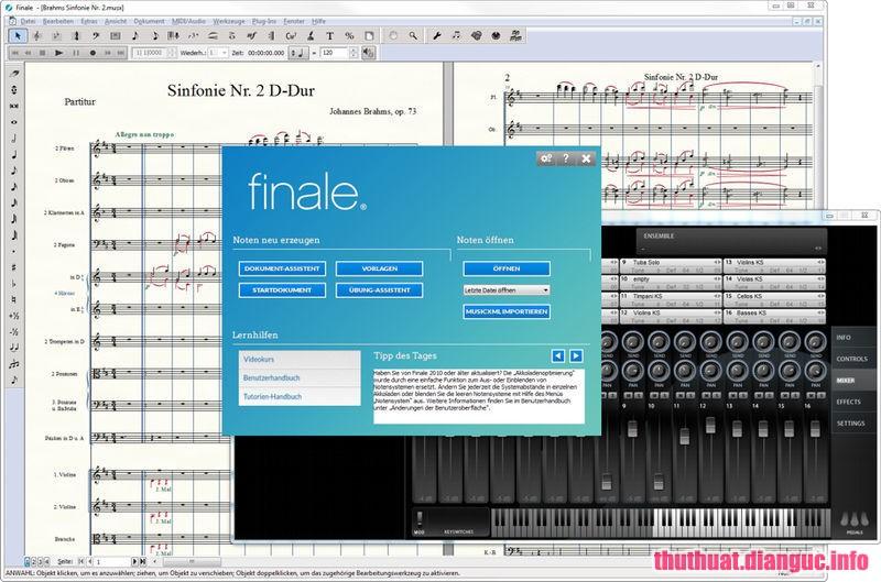Download MakeMusic Finale 26.1.0.397 Full Crack, chương trình soạn nhạc mạnh mẽ, phần mềm ký hiệu âm nhạc, MakeMusic Finale, MakeMusic Finale free download, MakeMusic Finale full key
