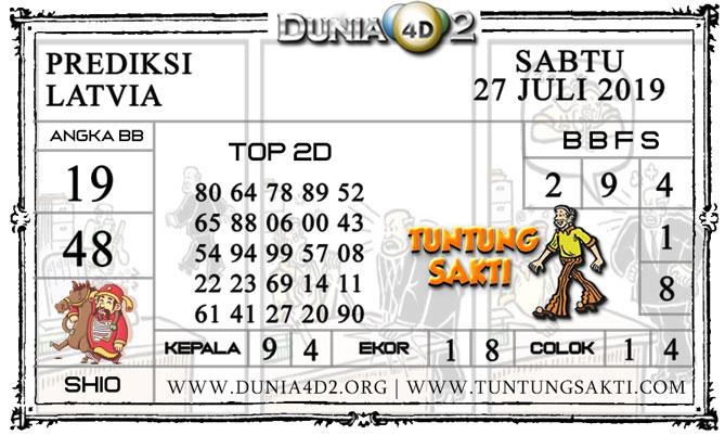"Prediksi Togel ""LATVIA"" DUNIA4D2 27 JULI 2019"