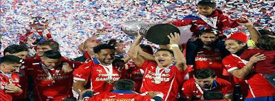 Chile gana la Copa América