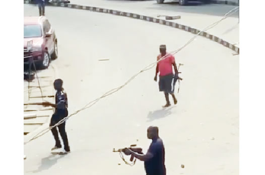 One Killed, Many Injured As Police, Okada Riders Clash In Lagos (Video)