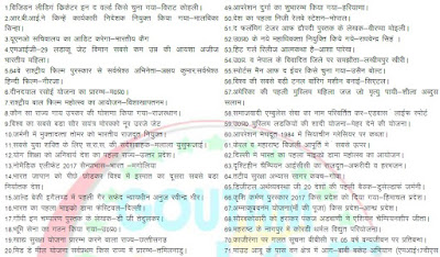 One Line Current Affair in Hindi 2021