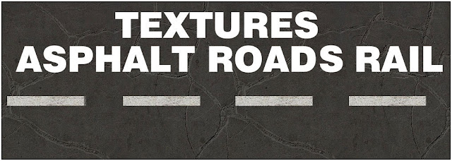 1 Texture tileable asphalt, roads, rail, sketchuptexture