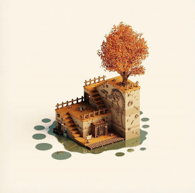 Voxel Art of the Month - December