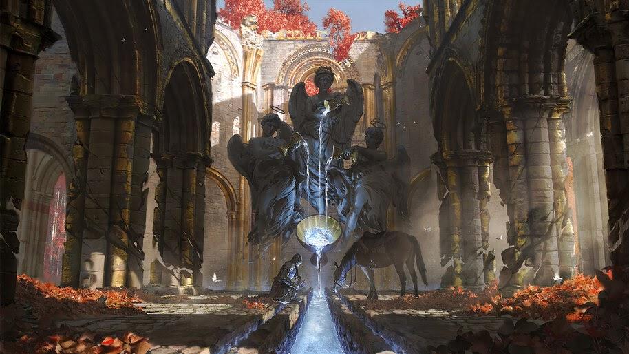 Knight, Fantasy, Medieval, Art, 4K, #4.1039