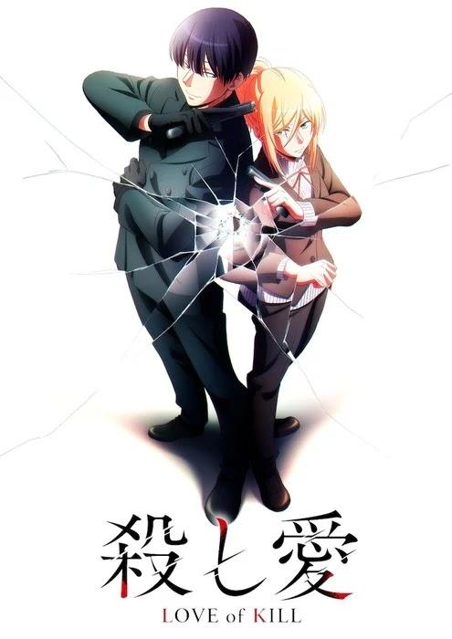 Anime 'Koroshi Ai (Love of Kill)' Revela Staff, Visual e estreia para 2022