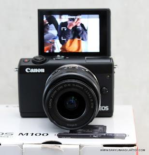jual Kamera Mirrorles Canon EOS M10 -Banyuwangi