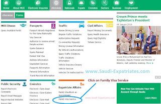 MOI FAMILY VISA SERVICE SAUDI ARABIA