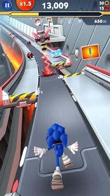 Screenshot Sonic Dash Sonic Boom