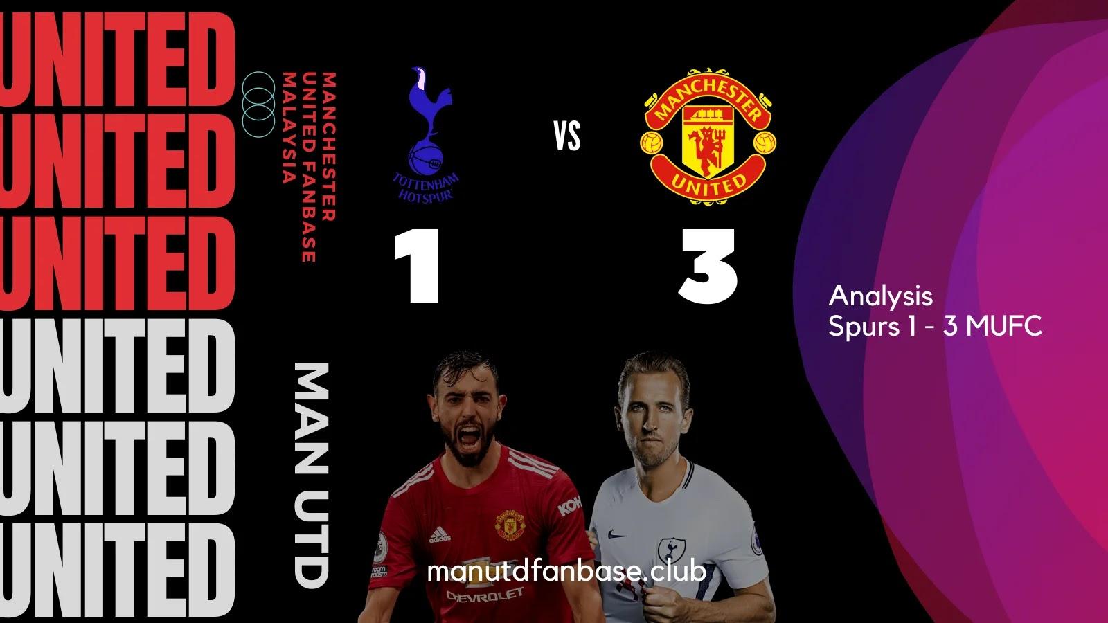 Analysis Tottenham Lawan Man United pekan ke-31