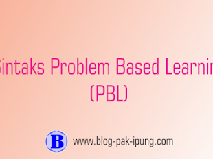 Sintak Problem Based Learning (PBL)
