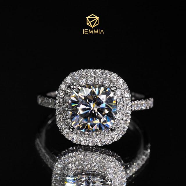 Kim cương sau khi mài dũa có độ lấp lánh