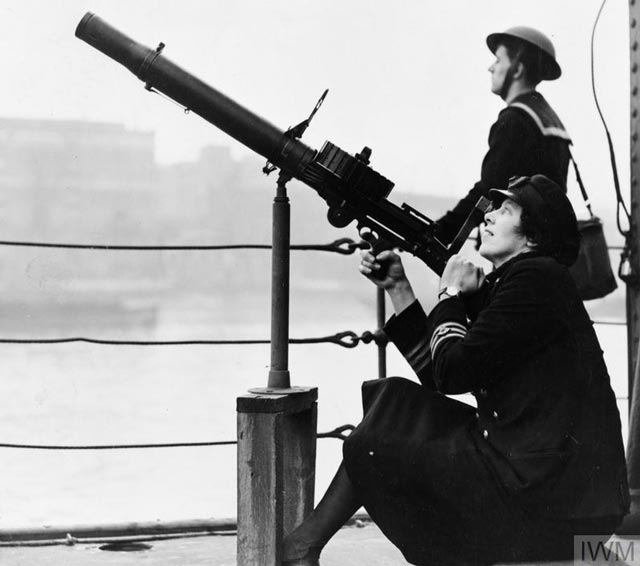 A lady engineer in the Royal Navy, 9 March 1942 worldwartwo.filminspector.com