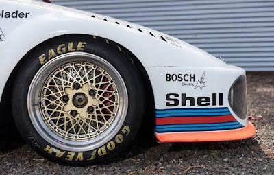 1976 Porsche 934 5 Racing Tires and Rims