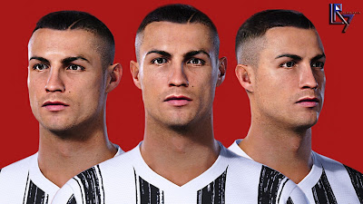 PES 2021 Faces Cristiano Ronaldo by LR7