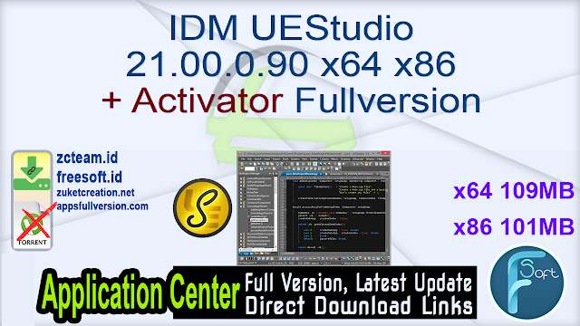 IDM UEStudio 21.00.0.90 x64 x86 + Activator Fullversion