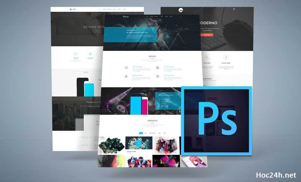 Thiết kế Web với Photoshop và cách kiếm tiền từ công việc Freelance