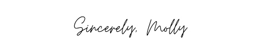 Sincerely, Molly - New England Living
