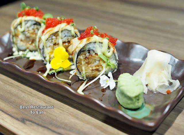 KOUZU Bangsar Bar Restaurant Umami Rolls