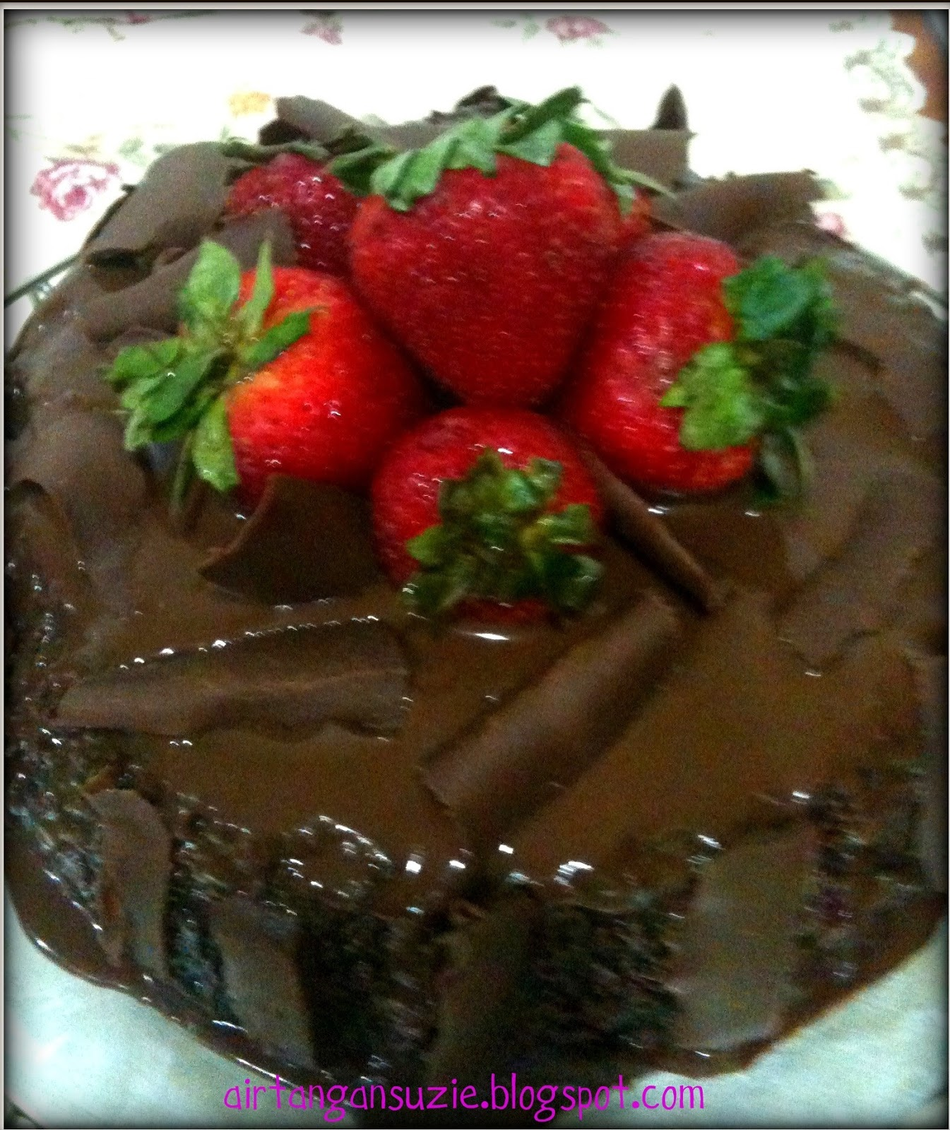Kek Coklat Versi Suzie