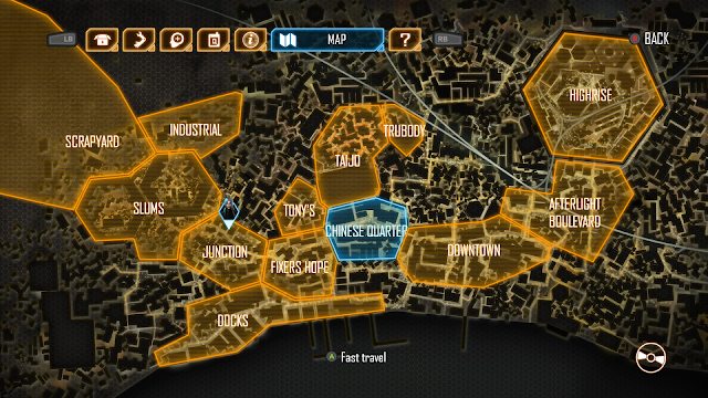 The map in Dex