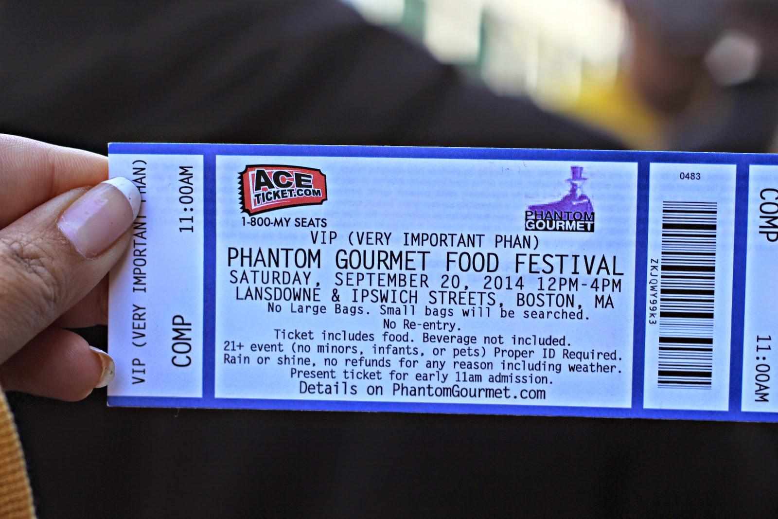 Phantom Gourmet Food Festival 2020 Phantom gourmet food festival discount tickets