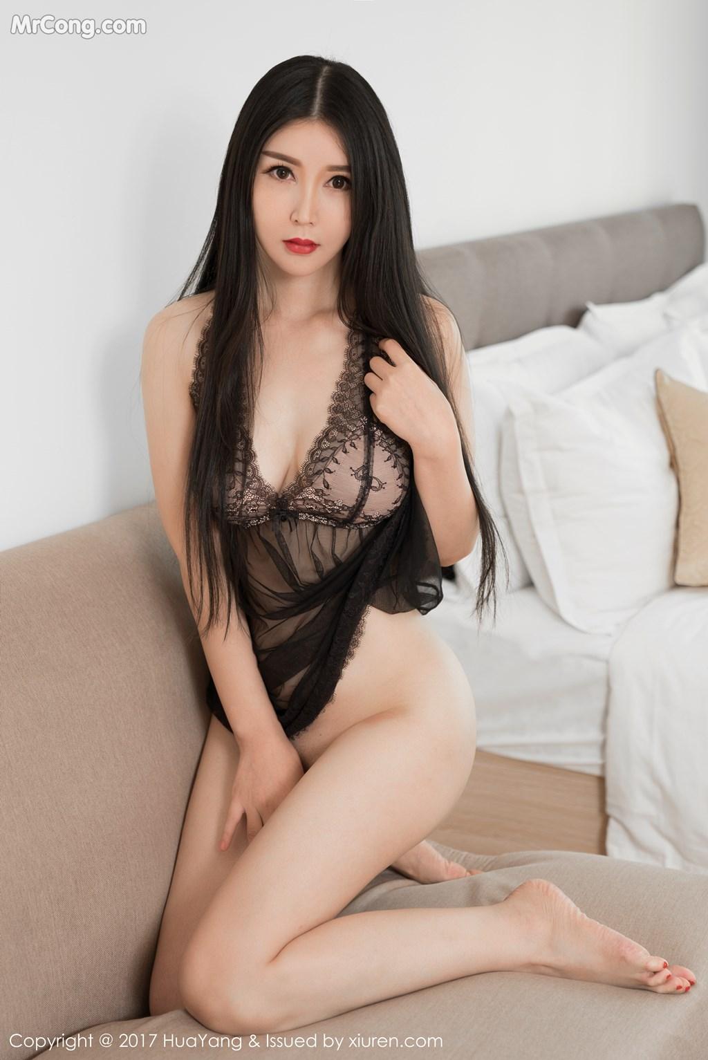 Image HuaYang-2017-12-05-Vol.017-Gu-Xinyi-MrCong.com-005 in post HuaYang 2017-12-05 Vol.017: Người mẫu Gu Xinyi (顾欣怡) (44 ảnh)