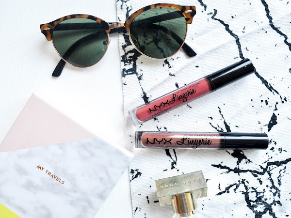NYX Lip Lingerie Exotic + Teddy | Review