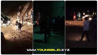 (بالصور) وادي الليل : نكل بجثته …العثور على جثة شاب ملقاة على الطريق