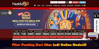 Fitur Penting Dari Situs Judi Online Nada4D