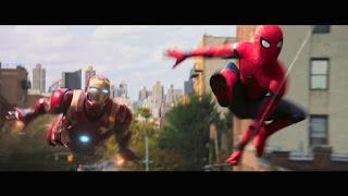 spiderman homecoming: el buitre pelea con iron man en los nuevos posters