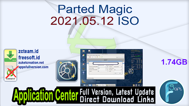 Parted Magic 2021.05.12 ISO_ ZcTeam.id