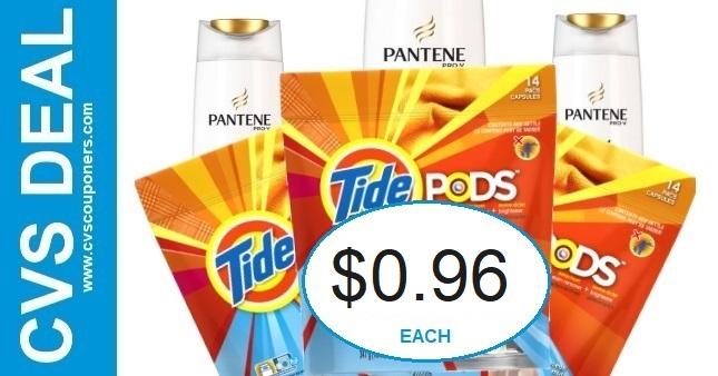 CVS Tide & Pantene Coupon Deal 12-13-12-19
