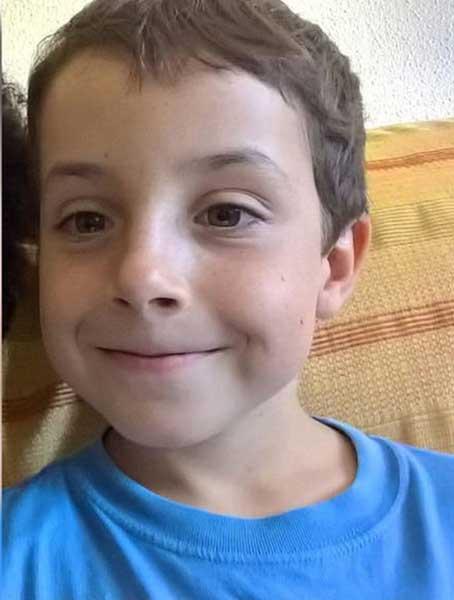 El niño Gabriel Cruz, encontrado muerto en el maletero del coche de la novia del padre
