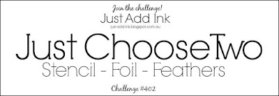 Jo's Stamping Spot - Just Add Ink Challenge #402