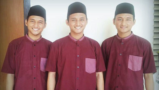 SUBHANALLAH, 3 Kembar Tampan Ini Mampu Hafalkan Al Qur'an Dalam Waktu 9 Bulan