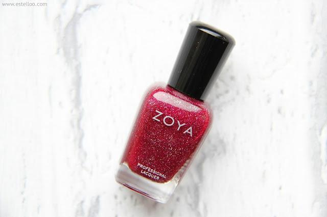 Blaze : mon rouge holographique, par Zoya