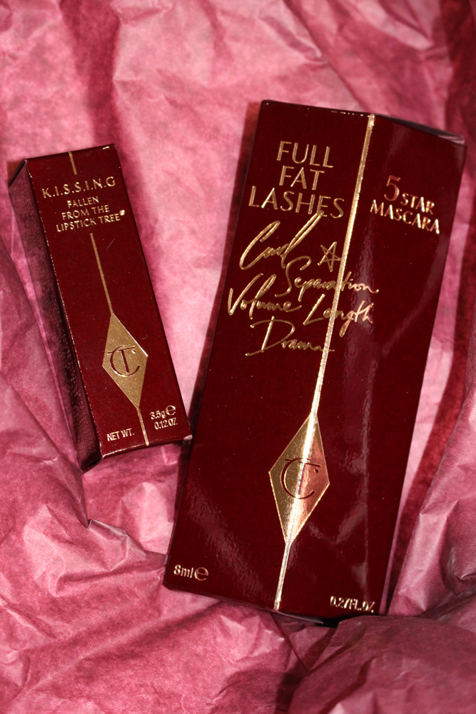 Charlotte Tilbury Full Fat Mascara and Coachella Coral Lipstick - beauty blogger Emma Louise Layla review