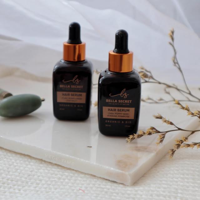 Naturalne olejki do włosów Bella Secret | Wegańskie & Zero Waste