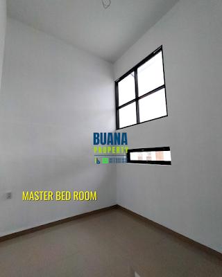 Master Bed Room Di Komplek The Flamboyan Suite 8 meter
