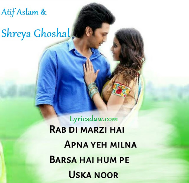 Lyrics Of O Re Piya
