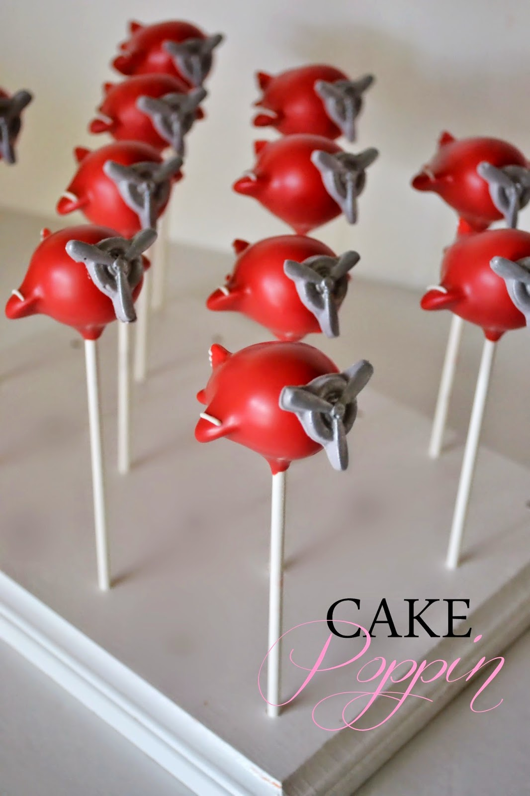 Vintage Airplane Cake Pops By Cake Poppin Pint Sized Baker
