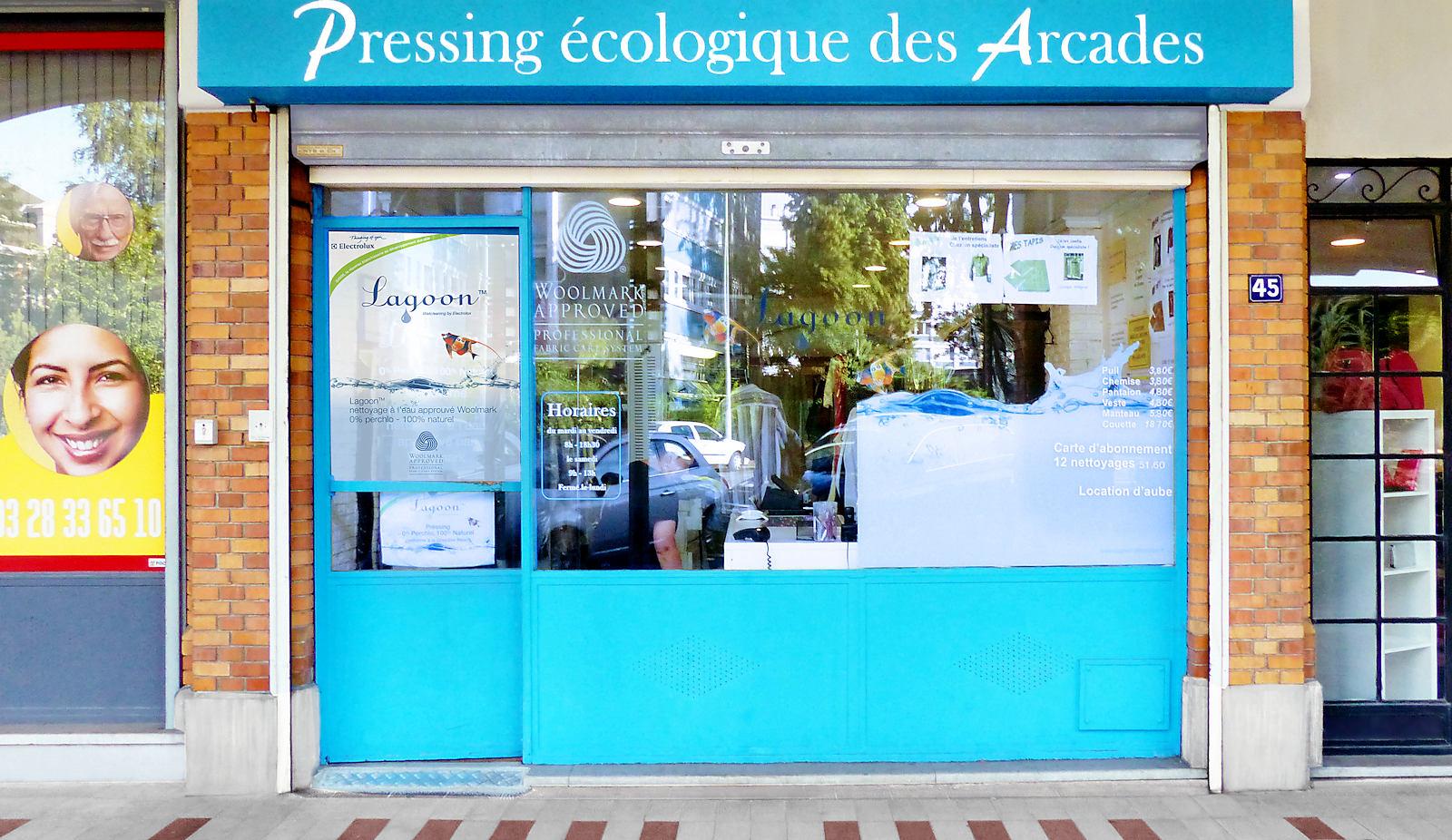 Arcades Tourcoing - Pressing écologique