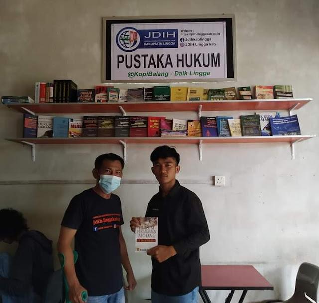 Pemkab Lingga Buat Perpustakaan di Tempat Publik Untuk Cerdaskan Masyarakat Dibidang Hukum