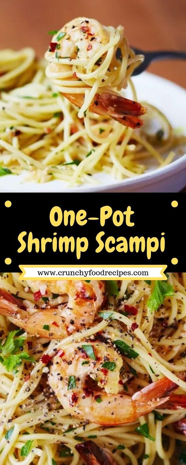 One-Pot Shrimp Scampi
