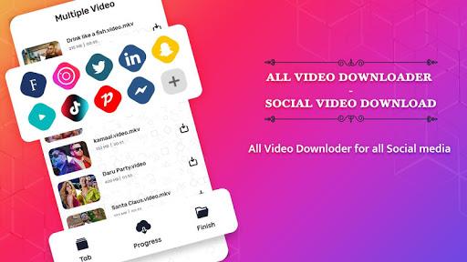 All Video Downloader 2020 Descargar Vídeos De Todas Tus Redes Sociales Facebook, Instagram