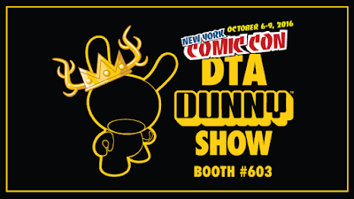 Clutter and Kidrobot announce the New York Comic Con 2016 DTA DUNNY Group Art Show