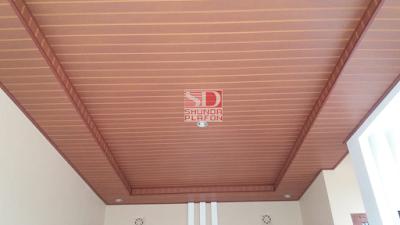 Pemasangan Shunda Plafon PVC di Rumah Ibu Dewi - shunda plafon purwokerto