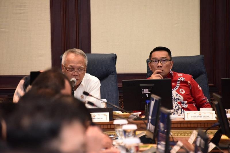 Gubernur dan Kepala Daerah di Jabar Bahas Rencana Aksi Penanggulangan Bencana Bersama Menteri PUPR RI
