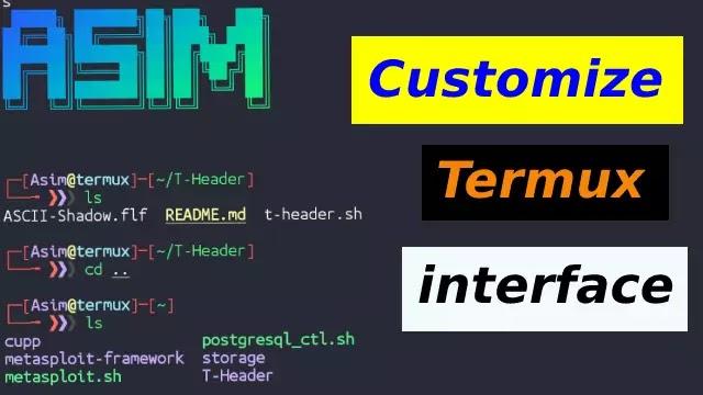 Customize Termux Interface