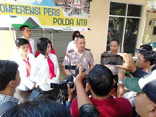 Berkas Rampung, Polda Serahkan Tersangka Pidana Trafficking ke Kejati NTB